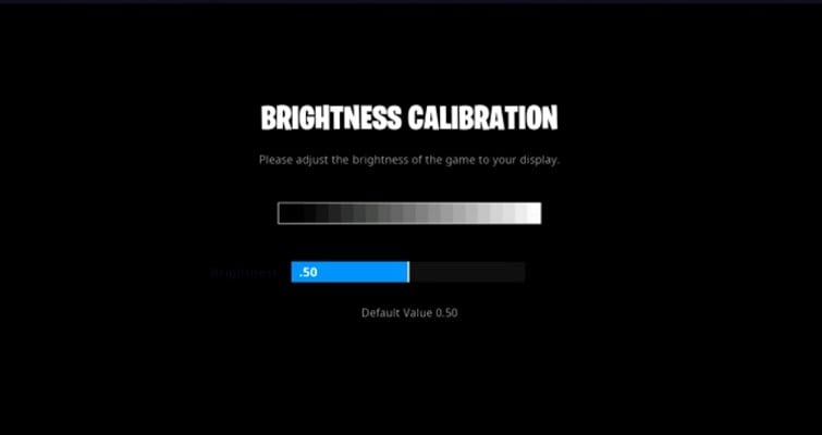 Shroud-brightness-setting