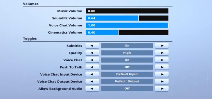 Cloak-Audio-setting