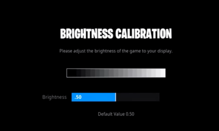 Chap Brightness Setting