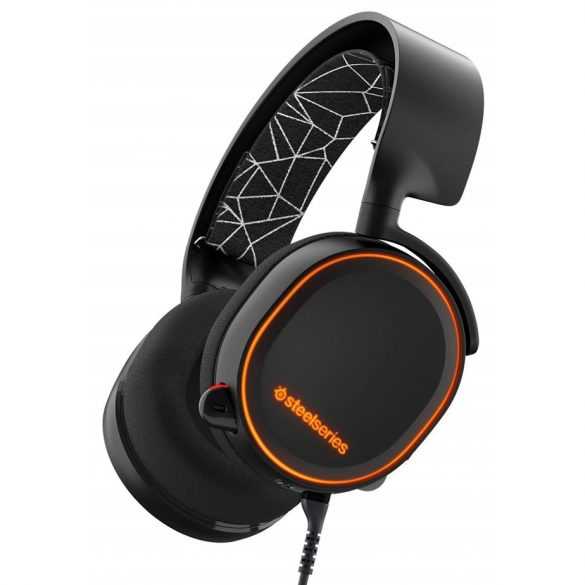 SteelSeries Arctis 5 RGB Illuminated Gaming Wired Headset