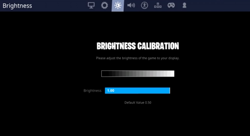 bizzle brightness setting