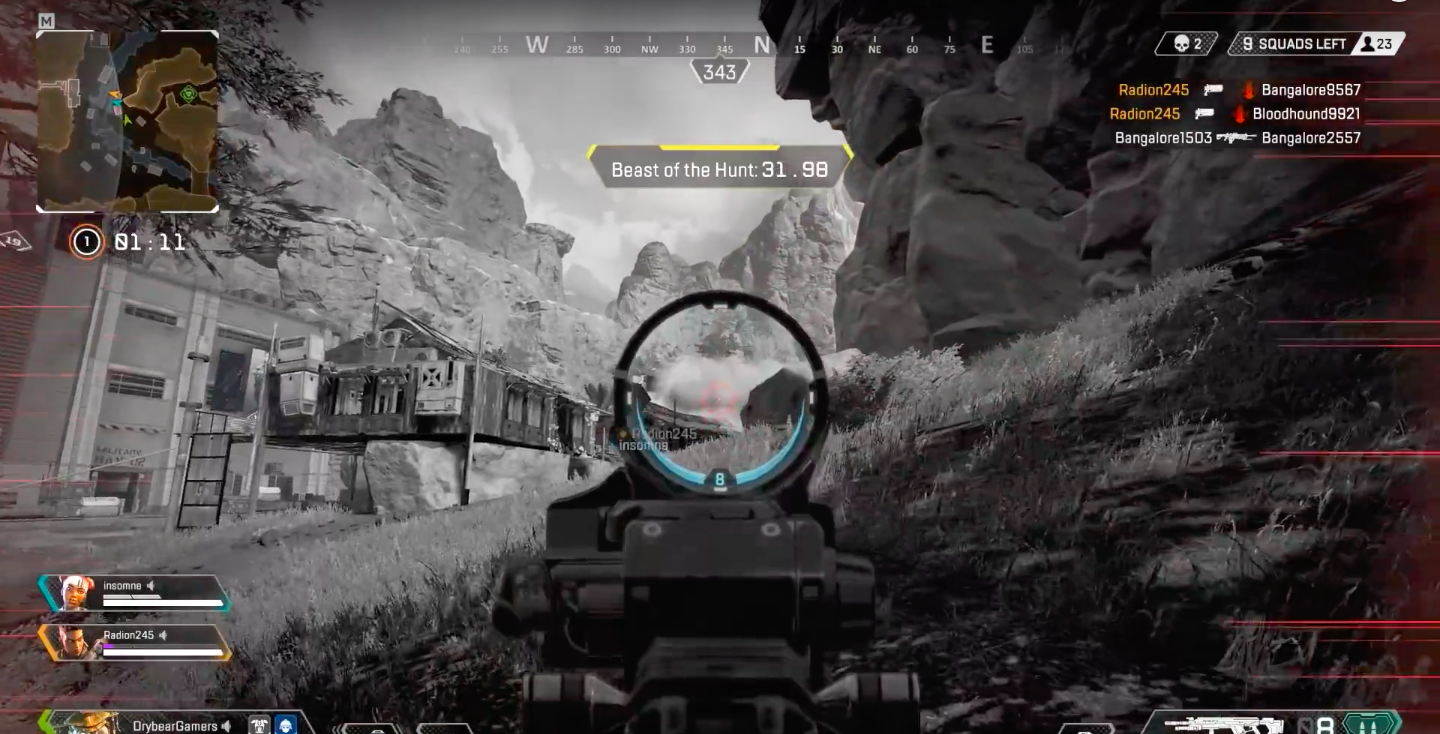 Tracking in Apex Legends