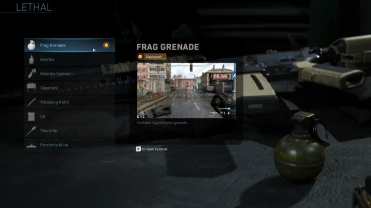 Create a Class in Call of Duty: Modern Warfare