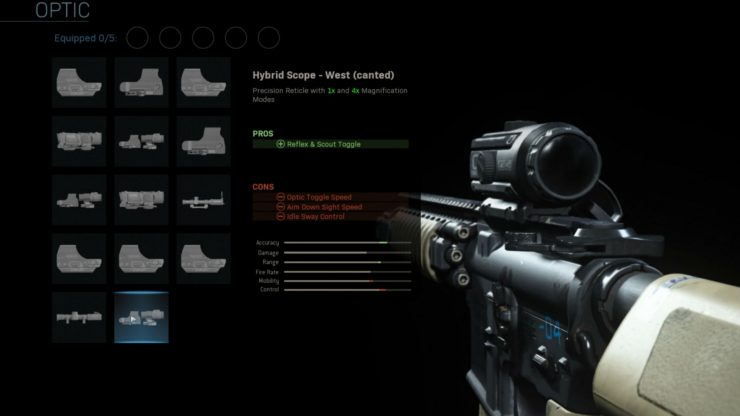 Gunsmith Call of Duty: Modern Warfare