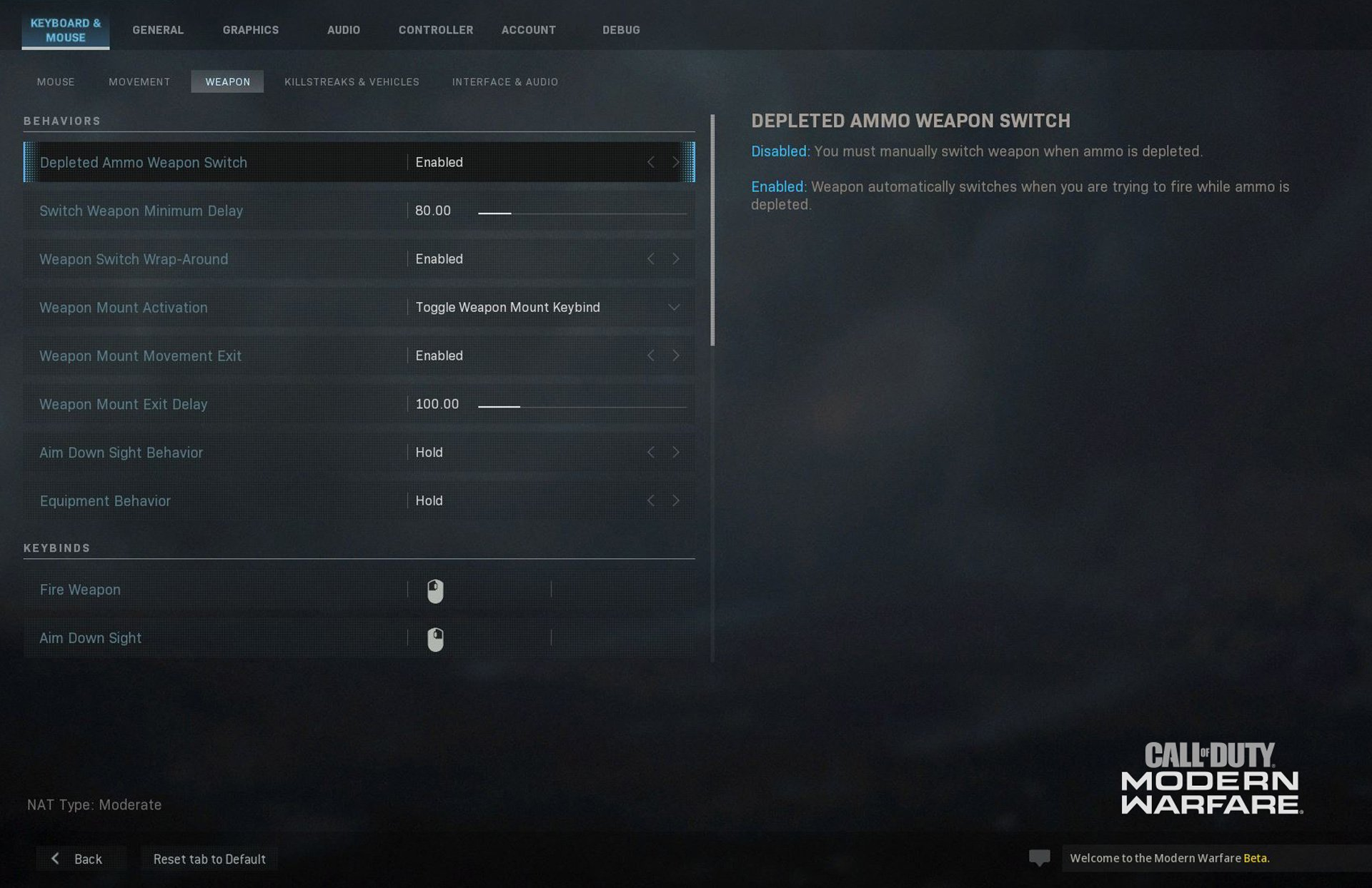 The Best Call of Duty: Modern Warfare Beta Settings