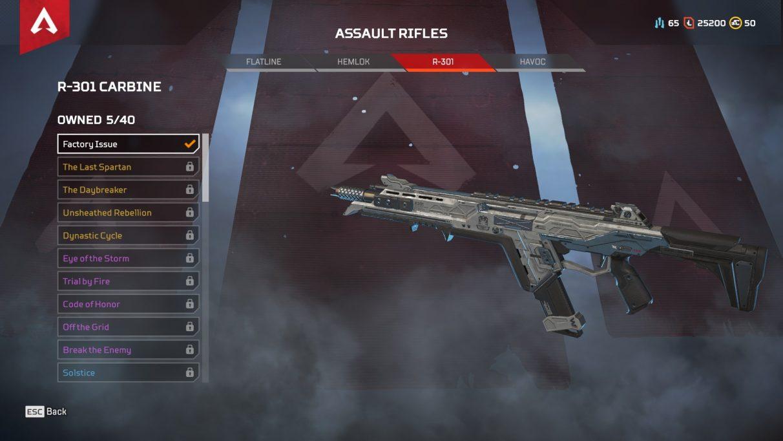 Apex Legends Season 3 Weapons