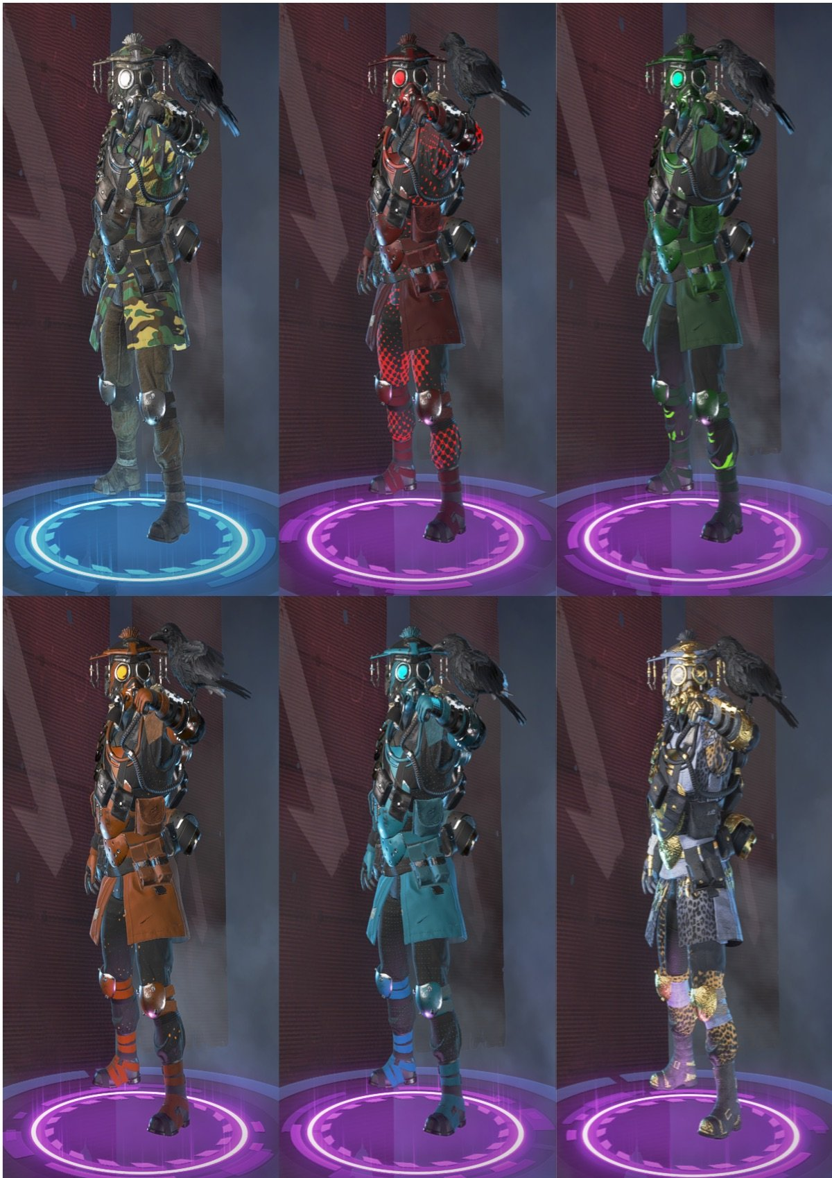 every bloodhound skin