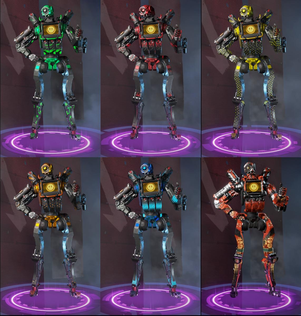 The Rarest Pathfinder Skins
