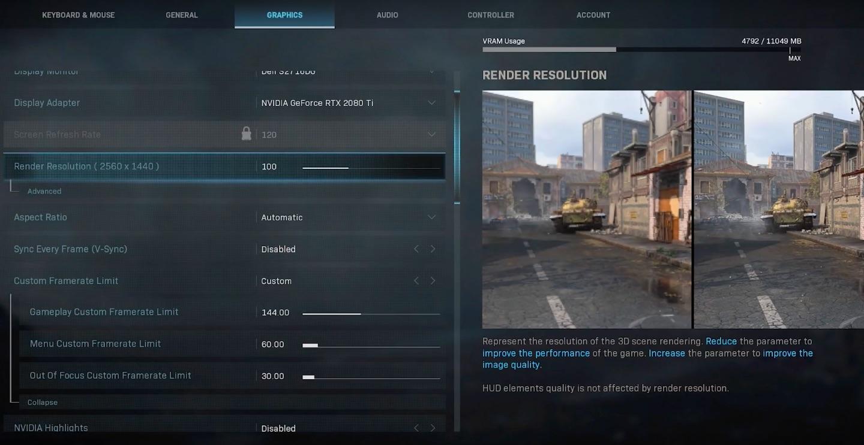 Best Call of Duty: Modern Warfare Settings