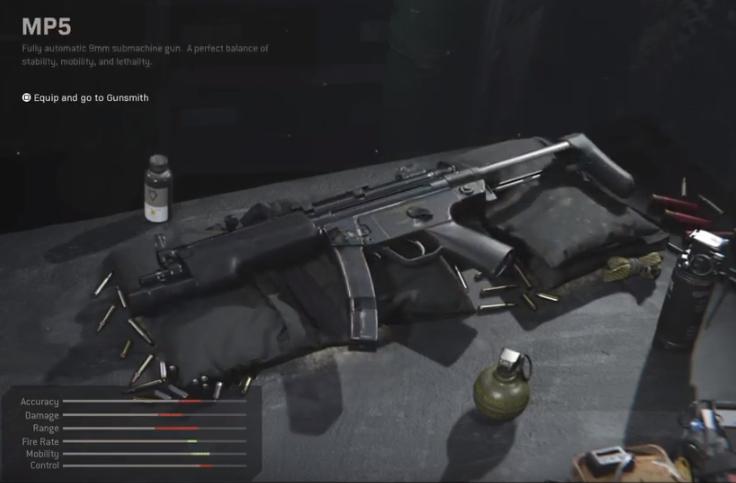Best MP5 Loadouts