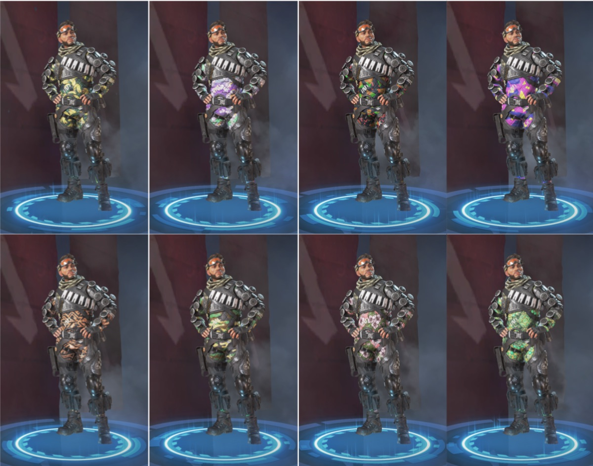 The Rarest Mirage Skins