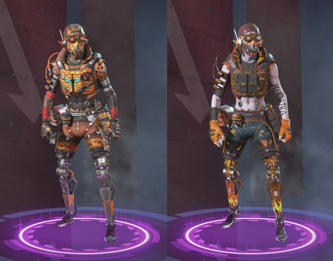 The Rarest Octane Skins