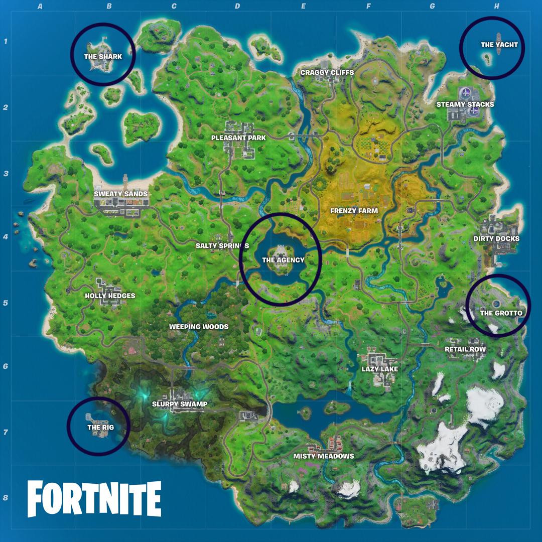 Fortnite Vaults Guide