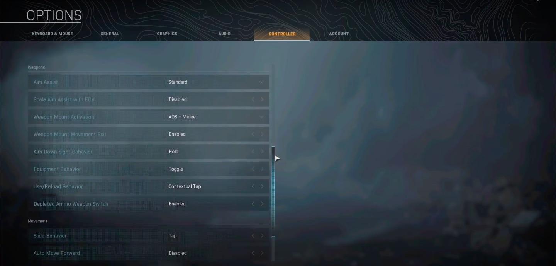 Best apex legends controller settings