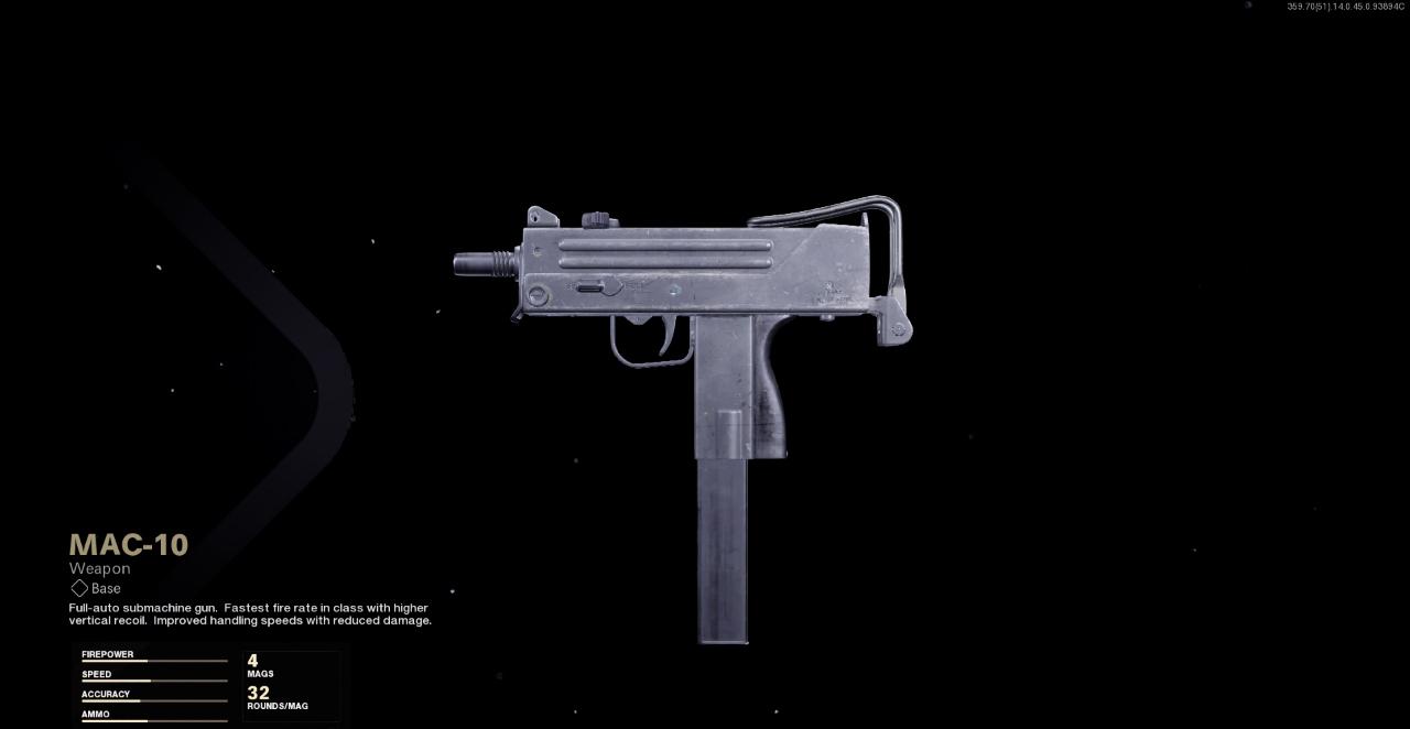 Best MAC-10 Loadouts in Cold War