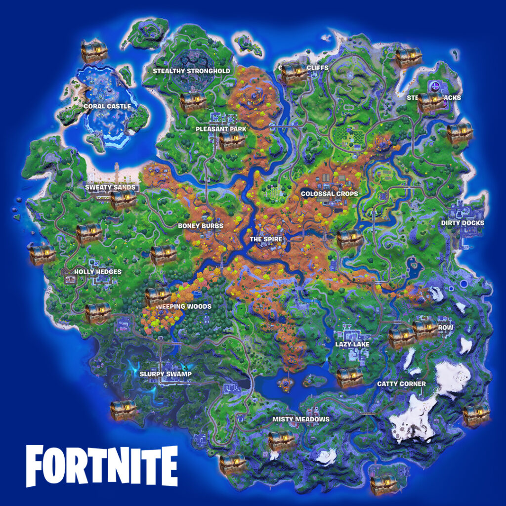 Fortnite Bunker Chests Locations Guide