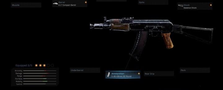 Best AK74u warzone Loadout