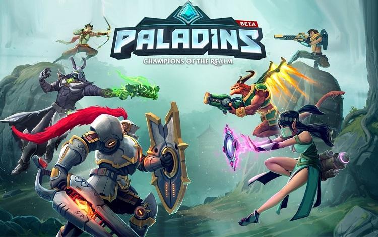 gameplay paladins vs overwatch